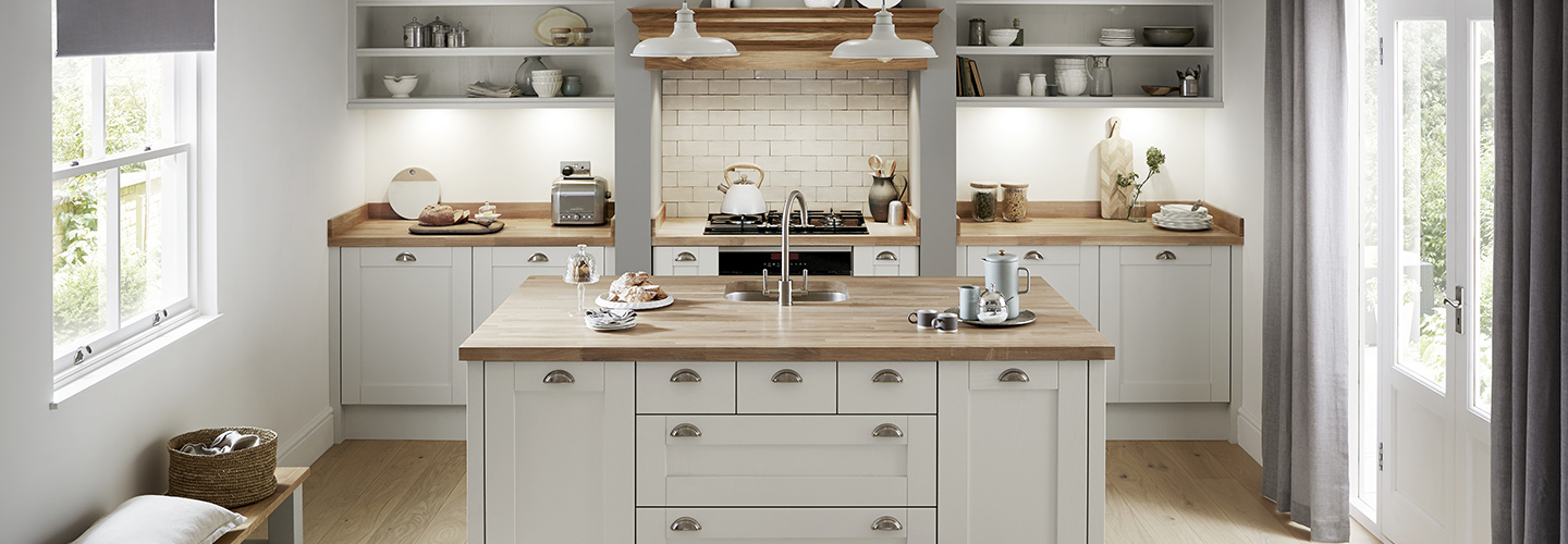 Howdens example kitchen